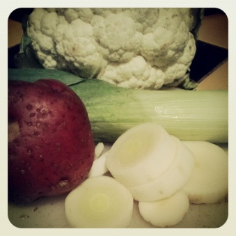 happy homesteader leek soup 1